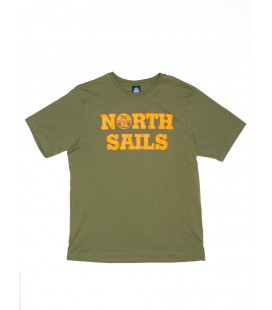 NORTHS SAILS CAMISETA LOGO