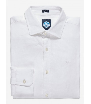 NORTH SAILS CAMISA LINO POINT COLLAR REG