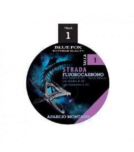 BLUE FOX APAREJO MONTADO STRADA-FLUOROCARBONO