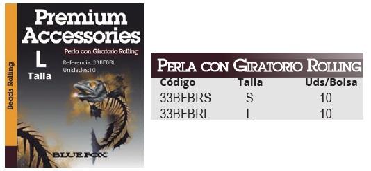 40306 PERLA CON GIRATORIO ROLLING